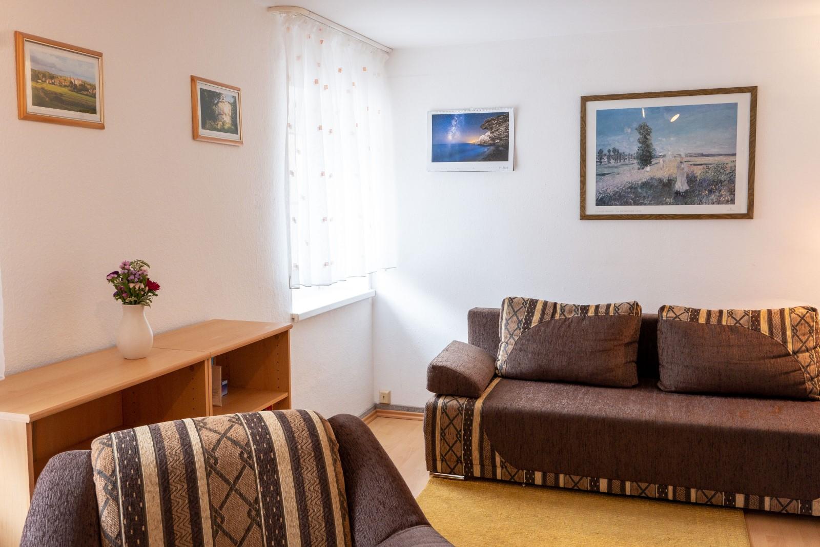 Hof Türke - Ferienwohnung Kirchblick - Wohnzimmer