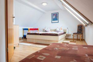 Hof Türke Moritzburg - Ferienwohnung Kirchblick - Schlafzimmer