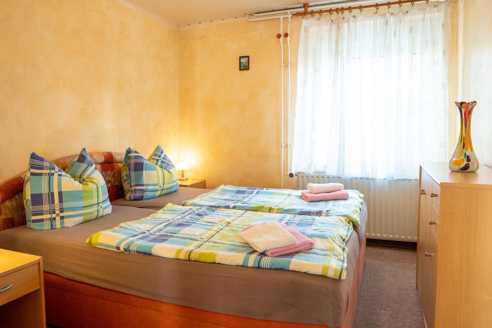 Hof Türke - Kleine Ferienwohnung - Schlafzimmer